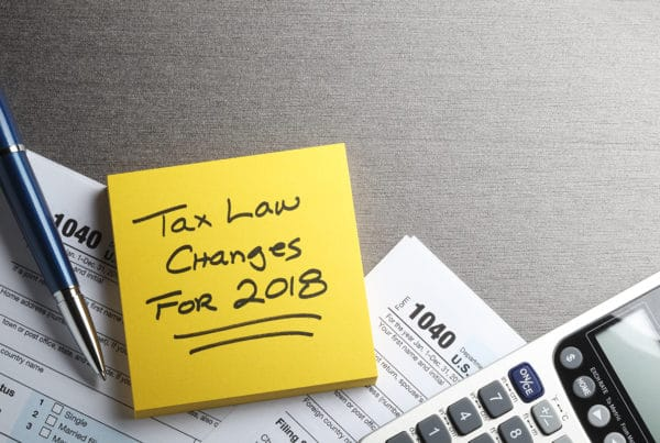 Tax Form New Tax Law Changes Impact of Tax Reform on Nonprofits Part 1 - Eleo Online Blog