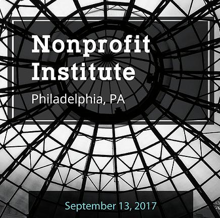Nonprofit Learning Lab's Philadelphia Nonprofit Institute (September 13th)