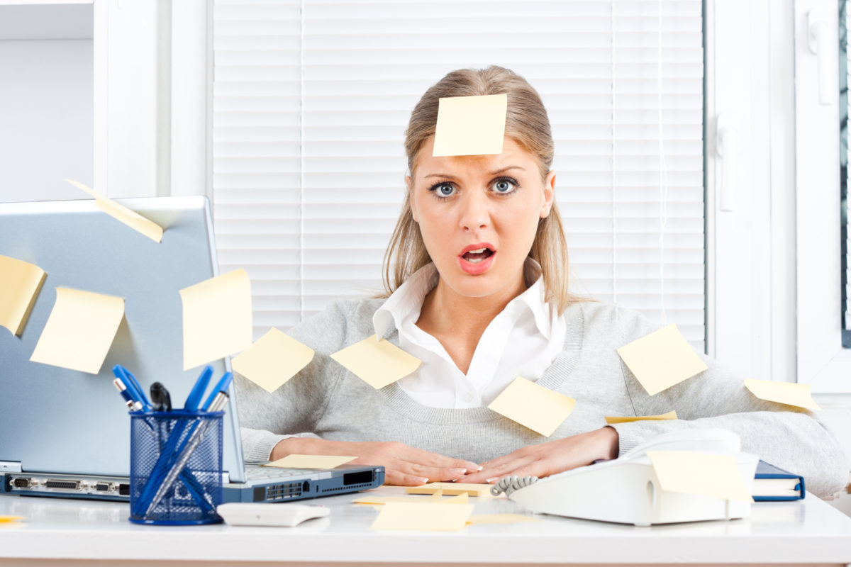 Women Stressed about Time Management