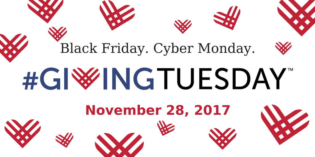 Black Friday Giving Tuesday Event Flyer
