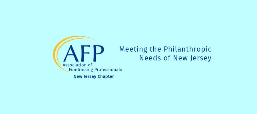 Revive and Thrive at the AFP New Jersey Conference on Philanthropy