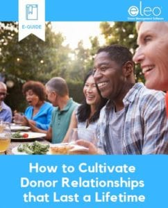 Eleo-E-Guide-How-to-Cultivate-Donor-Relationships-Cover-Image
