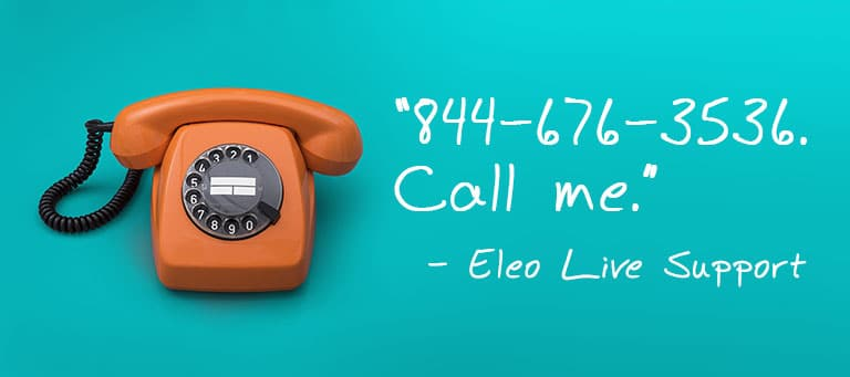 Eleo Live Phone Support for Nonprofits