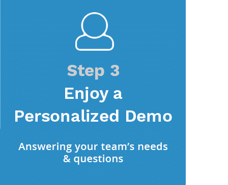 Step 3 Enjoy a Personalized Demo
