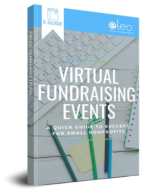 Virtual Fundraising E-Guide Book Cover
